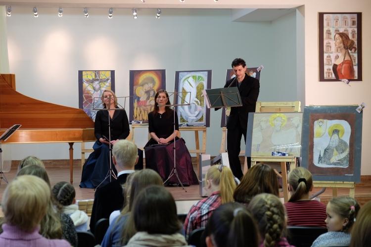 """""""Canto Fiorito"""" baroko menų projektas vaikams """"Netaisyklingas perlas"""""""