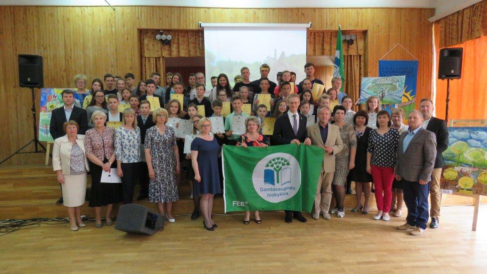 Žalioji vėliava – Kaišiadorių Vaclovo Giržado progimnazijai