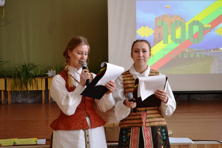 Tėvynę mylinčiose širdyse telpa visa Lietuva