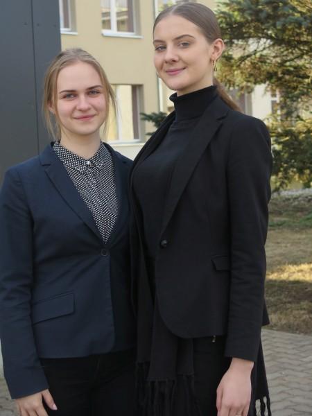 Danielė Cikanavičiūtė ir Rugilė Karengaitė – Kruonio krašto šviesuliukai
