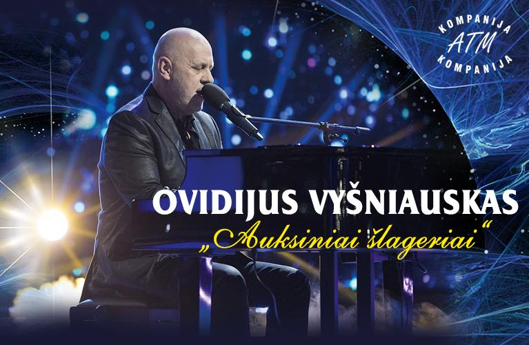 """Ovidijus Vyšniauskas """"Auksiniai šlageriai"""""""